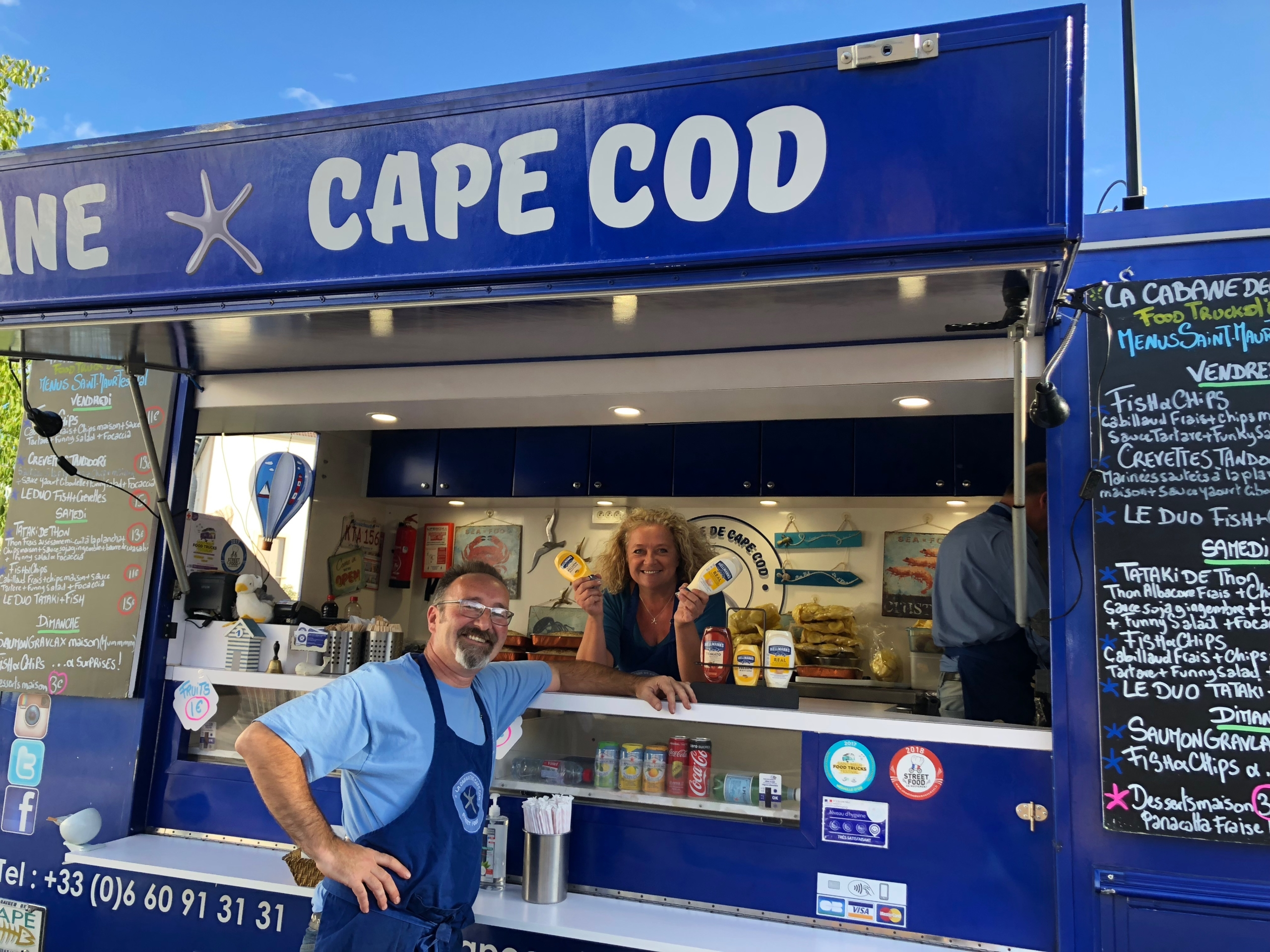 Cabane Cape Cod - Food Truck Fish & Chips